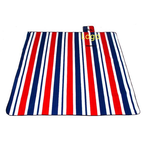 Custom Printed Waterproof Picnic Blanket Folding Beach Mat