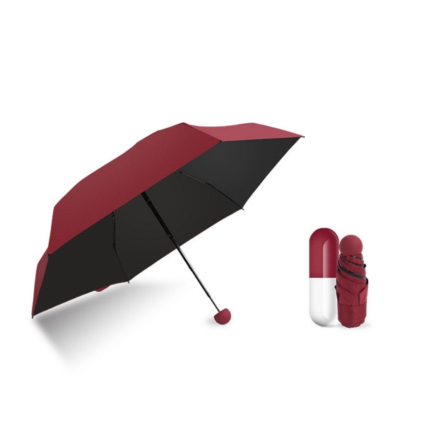 Mini 5 Fold Capsule umbrella