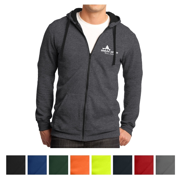 District Young Men's The Concert Fleece Full-Zip Hoodie