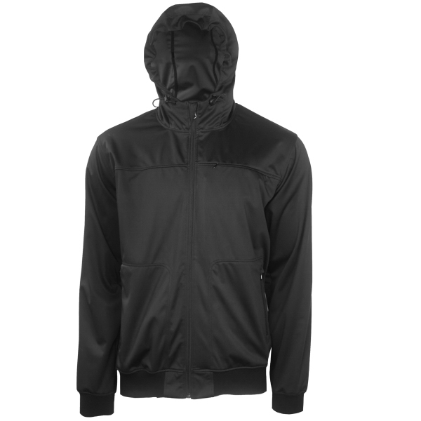 High Neck Hooded Soft shell Jacket