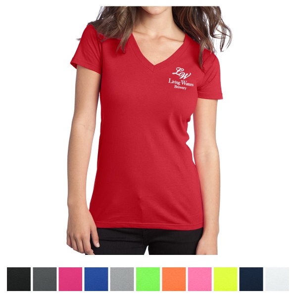 District Juniors' - The Concert Tee V-Neck