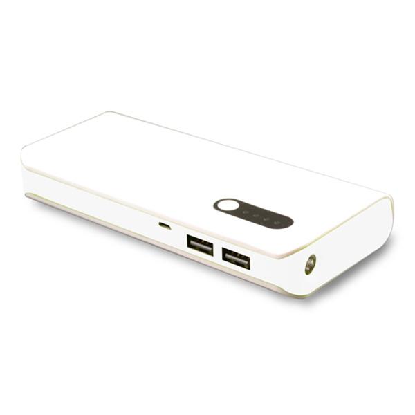 Backup Charger w/Dual USB Charging Ports,LED Light,Indicator