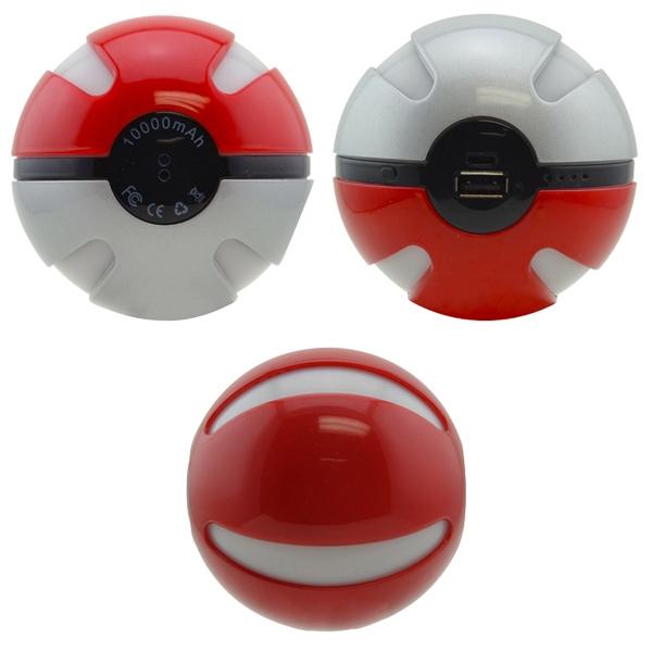 6600mAh Pokemon Ball Power bank