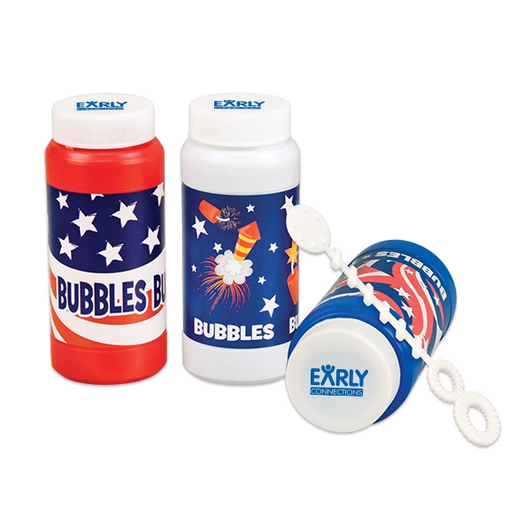 Patriotic Bubbles 4 oz.