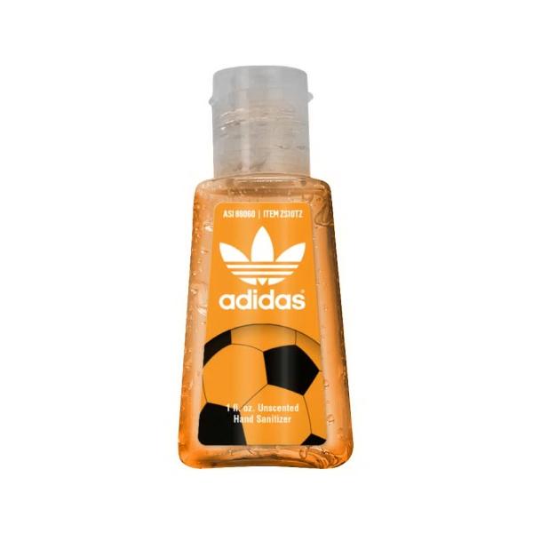1 oz. Tinted Gel Sanitizer in Trapezoid Bottle