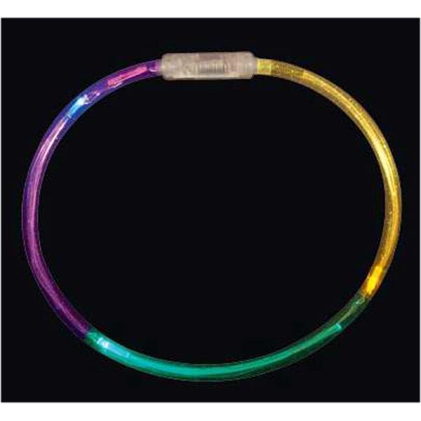 Mardi Gras tube necklace