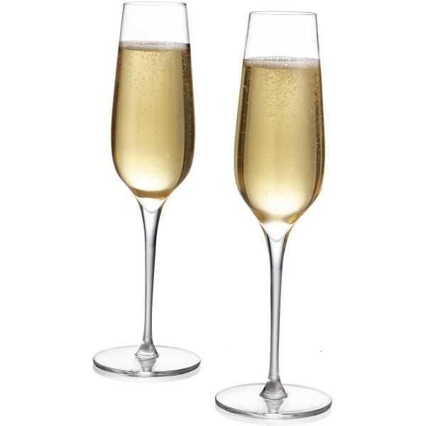 Vie Champagne Flutes (Set of 2), 9 Oz., 2.5