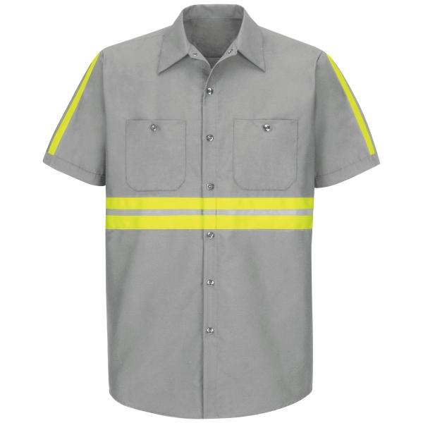 Short Sleeve High Visibility Work Shirt