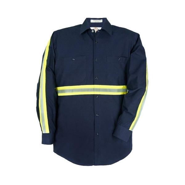 Long Sleeve High Visibility Work Shirt