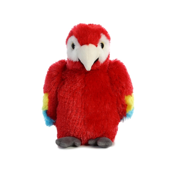 """8"""" Scarlet Macaw Parrot"""
