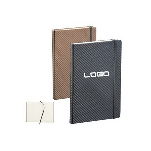 Journal Notebook,Sleek Carbon Fiber Journal