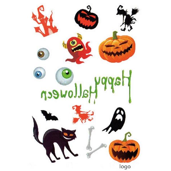 Temporary Tattoo Sticker For Halloween