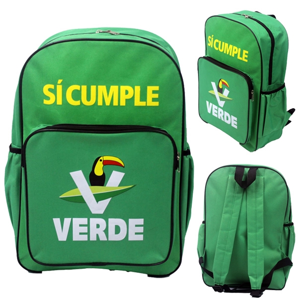 600D Polyester Promotional School Backpack