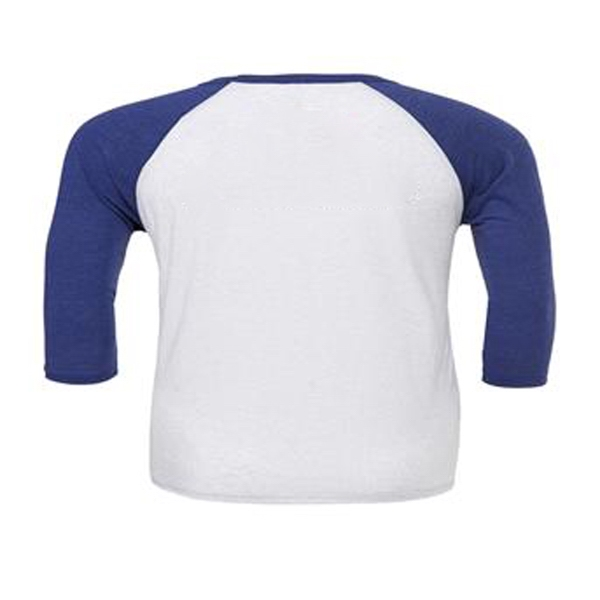Bella+Canvas Unisex 3/4 Sleeve Baseball T-Shirt