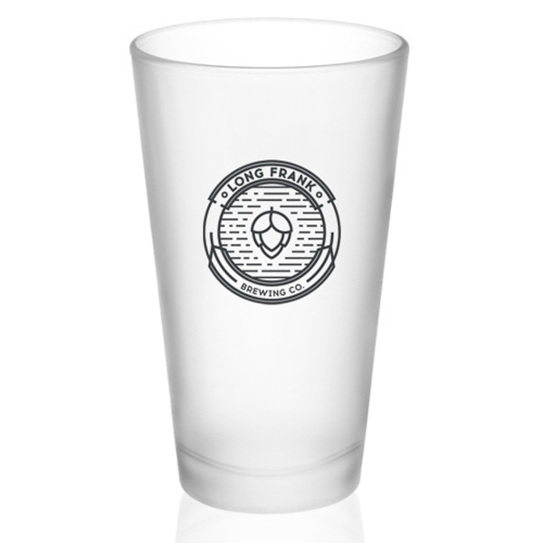 16 oz. Frosted Pint Glasses