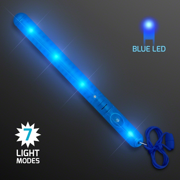blue led patrol wand. Black Bedroom Furniture Sets. Home Design Ideas