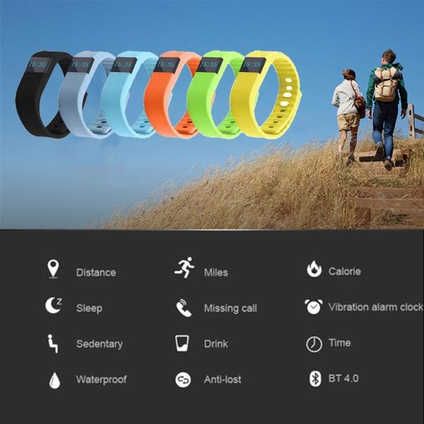 0.490 LED Screen Smart Bracelet Pedometer