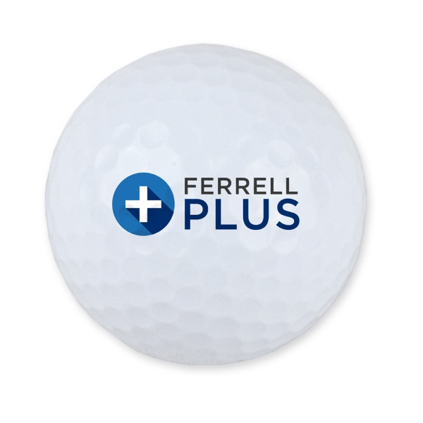 Printed Golf Ball - 3 Ball Sleeve - Unimprinted Box