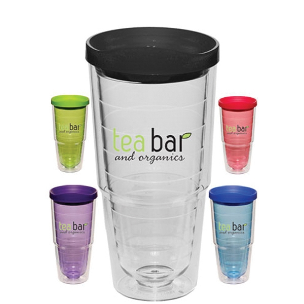 24 oz. Double Wall Orbit Acrylic Tumblers