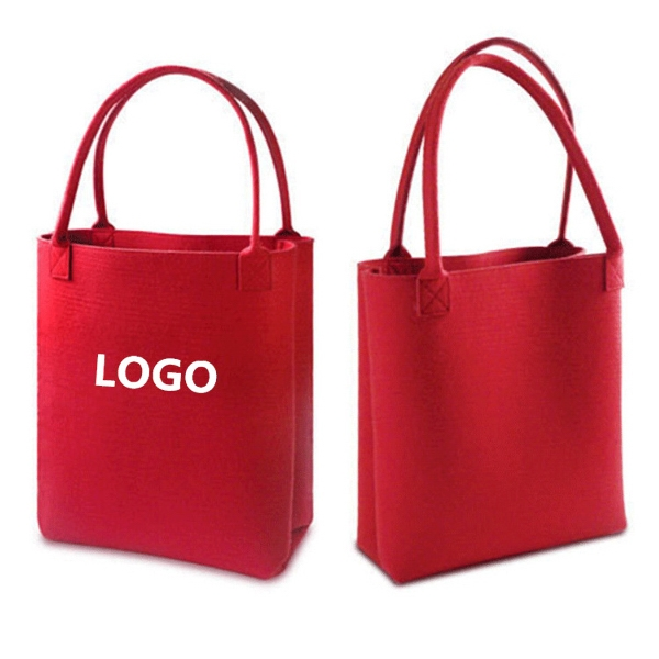 Felt Shopping Tote Bag