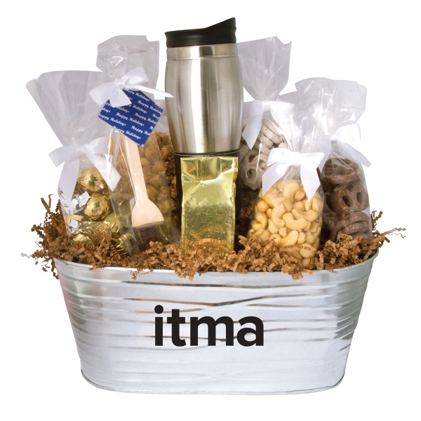 Warm & Cozy Gift Tub Filled with Treats
