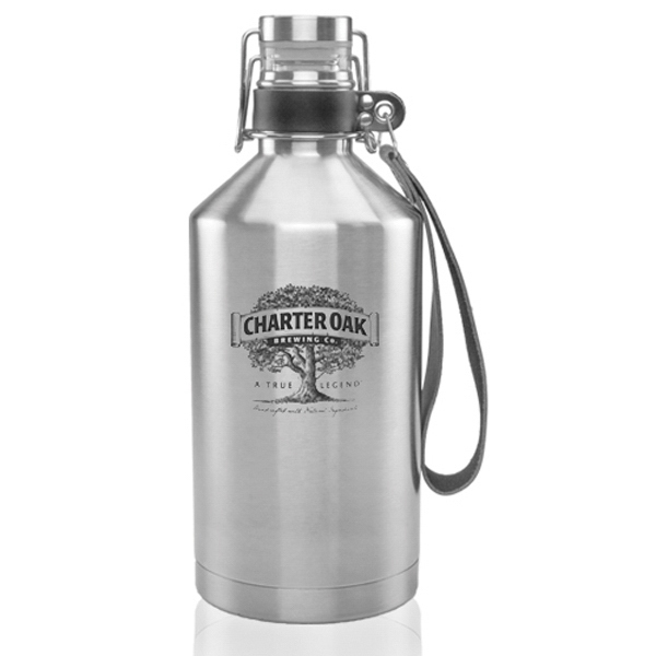 64 oz Canteen Stainless Steel Beer Growlers