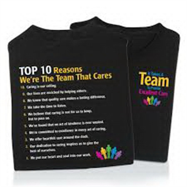 It Takes A Team To Provide Excellent Care 2-Sided T-Shirt