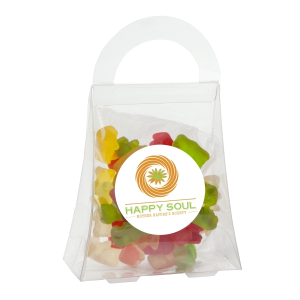 Purse Acetate Box with Gummy Bears