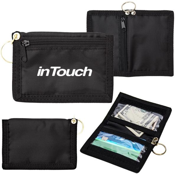 ID Wallet w/ Key Ring