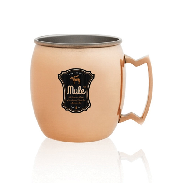 16 oz. Copper Coated Moscow Mule Mug