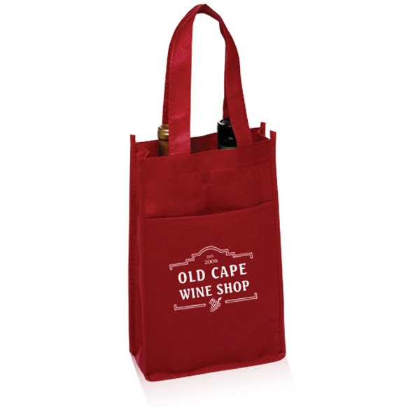 Non-Woven Vineyard Two Bottle Wine Bags