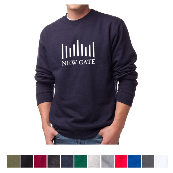 Independent Trading Company Men's Midweight Crew Neck Swe...