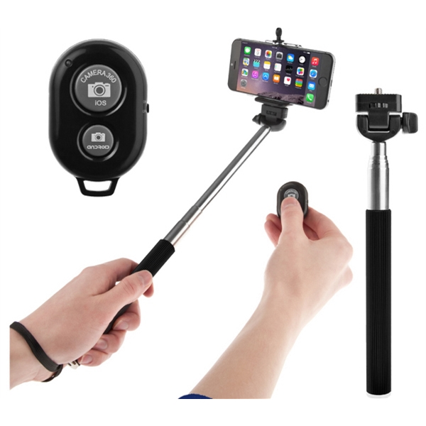 Wireless Selfie Stick with Remote