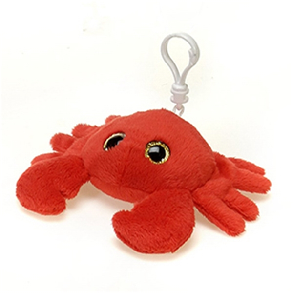 "6"" Red Crab Keychain"