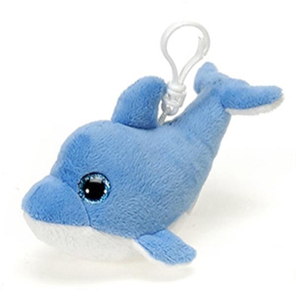 "6"" Blue Dolphin Keychain"