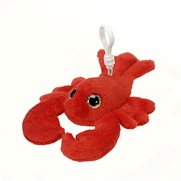 "6"" Red Lobster Keychain"