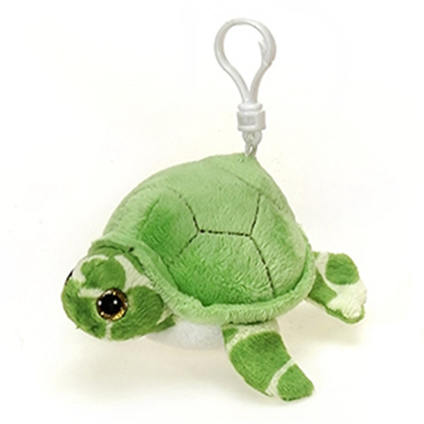 "6"" Green Turtle Keychain"