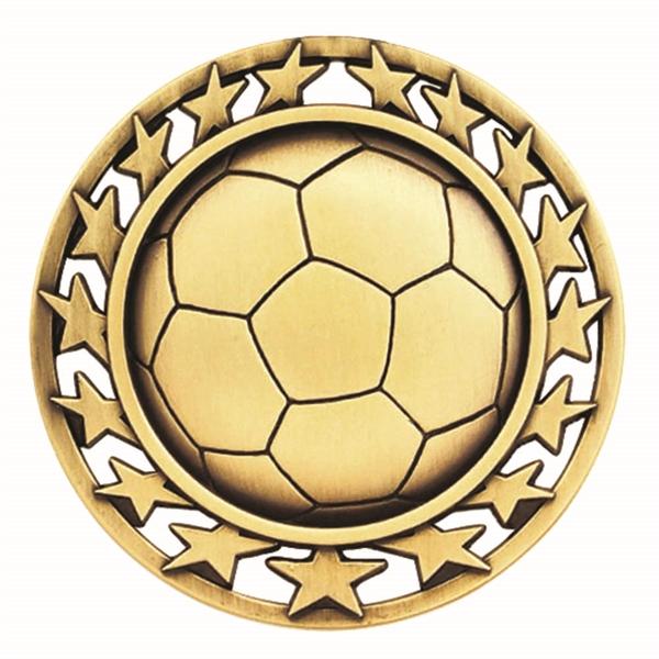"""2 1/2"""" SoccerStar Medallion"""