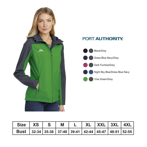 Port Authority?Ladies Hooded Core Soft Shell Jacket
