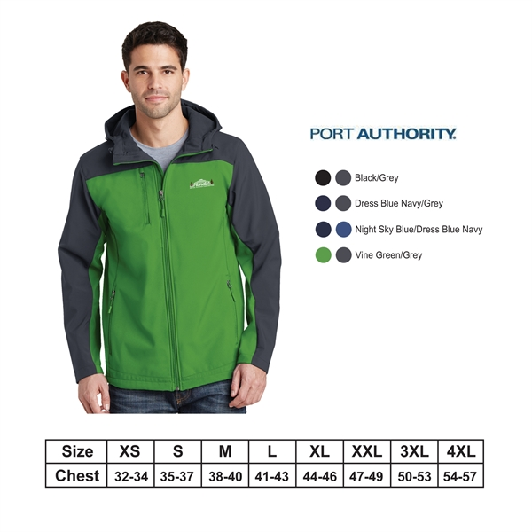 Port Authority?Hooded Core Soft Shell Jacket