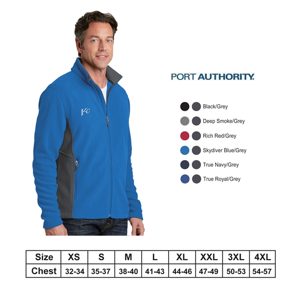Port Authority?Colorblock Value Fleece Jacket