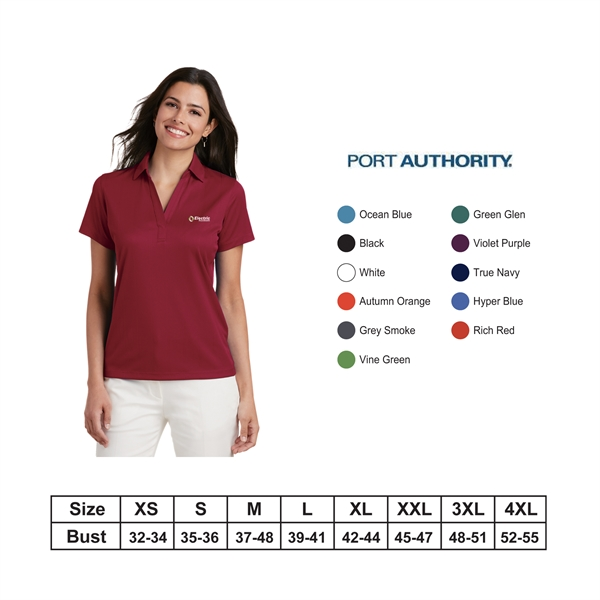 Port Authority?Ladies Performance Fine Jacquard Polo