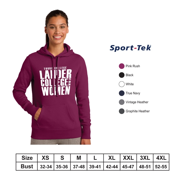 Sport-Tek?Ladies Pullover Hooded Sweatshirt