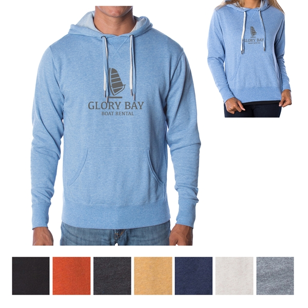 Independent Trading Company Unisex Heather French Terry H...