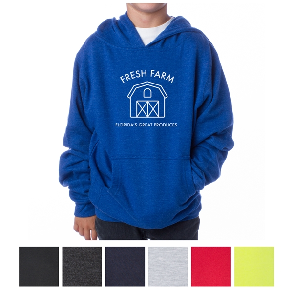Independent Trading Company Youth Midweight Pullover Hood...