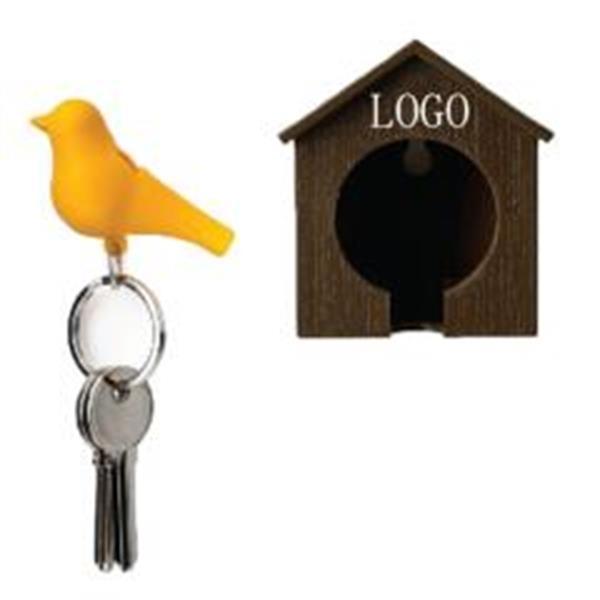 Bird Whistle Keychain