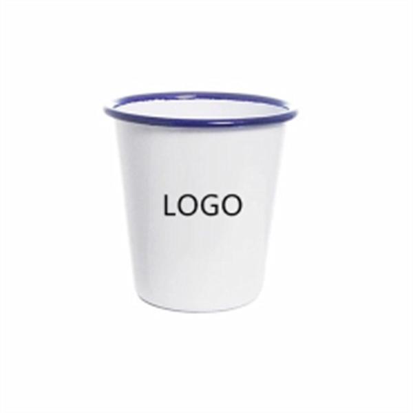 Creative Conical Enamel Mug