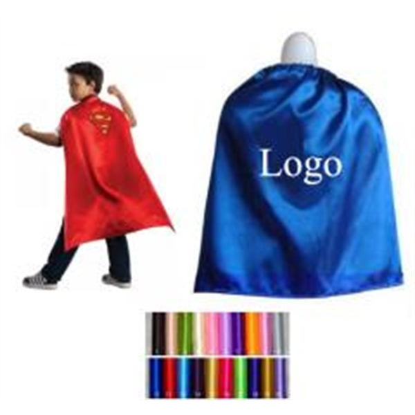 Colorful Child Satin Cape
