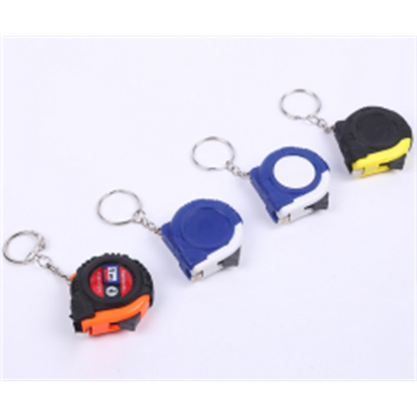 Pocket Mini Tape Measure Key Chain