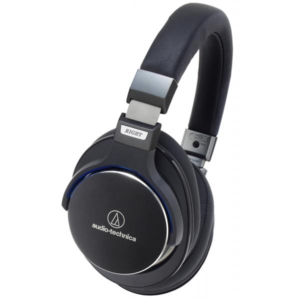 Audio Techinca Black SonicPro Over-Ear High-Resolution Audio